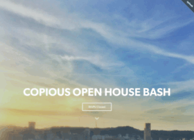 copiousopenhousebash.splashthat.com