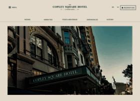 copleysquarehotel.com