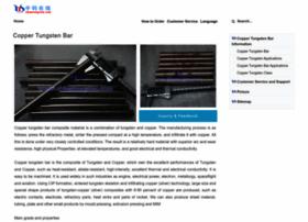 copper-tungsten-bar.com