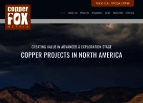 copperfoxmetals.com