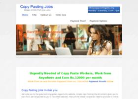 copypastingjobs.in