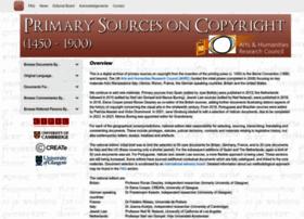 copyrighthistory.org