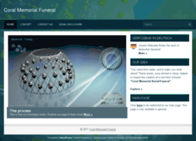 coralmemorial-bestattungen.com
