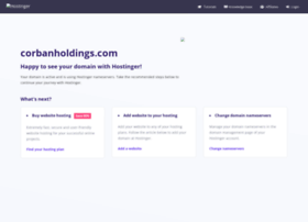 corbanholdings.com