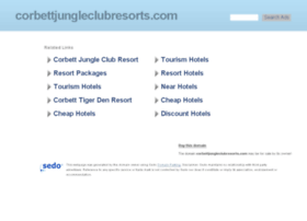 corbettjungleclubresorts.com
