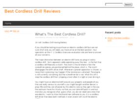 cordlessdrillhq.drupalgardens.com