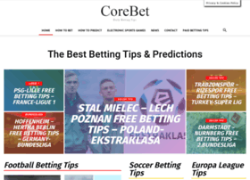 corebet.com