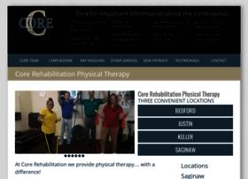 corerehabphysicaltherapy.com