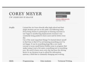 coreyameyer.com