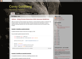 coreygoldberg.blogspot.com