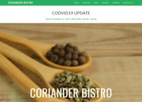corianderbistro.net