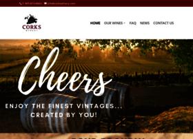 corkswinery.com