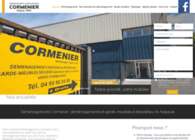 cormenier-demenagement.com
