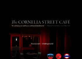corneliastreetcafe.com