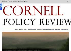 cornellpolicyreview.com