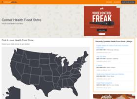 cornerhealthfoodstore.com