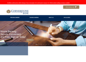 cornerstonebanknj.com