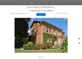 cornerstonesguesthouse.com
