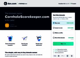 cornholescorekeeper.com