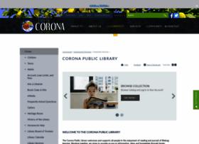 coronapubliclibrary.org