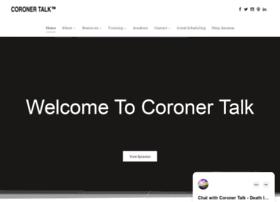 coronertalk.com