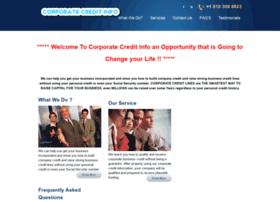 corporatecreditinfo.com