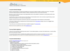 corporateidentity.alberta.ca