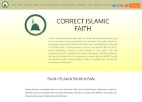 correctislamicfaith.com