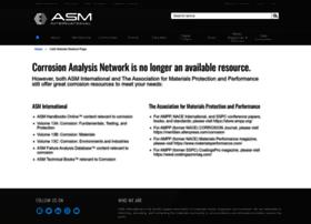 corrosionanalysisnetwork.org