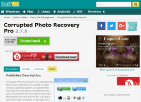 corrupted-photo-recovery-pro.soft112.com