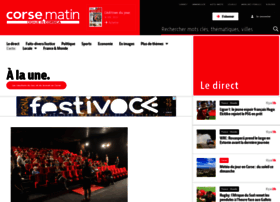 corsematin.com