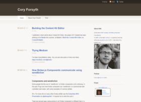 coryforsyth.com