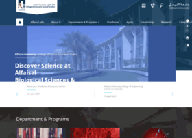 cos.alfaisal.edu
