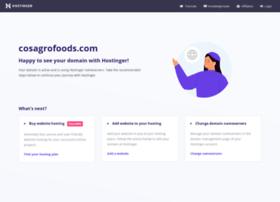 cosagrofoods.com