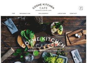 cosmekitchen-cafe.com
