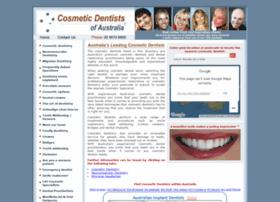 Cosmeticdentistsofaustralia.com