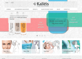 cosmetici.kalleis.com