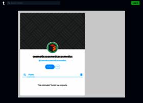 cosmeticscosmeticscosmetics.tumblr.com