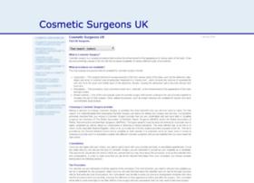 cosmeticsurgeonsuk.org.uk