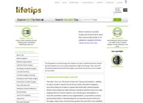 cosmeticsurgery.lifetips.com