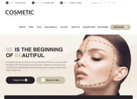 cosmeticsurgeryaustralia.com.au