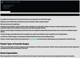 cosmeticsurgerytoday.com