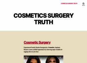 cosmeticsurgerytruth.com