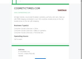 cosmetictimes.com