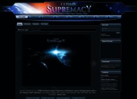 Cosmicsupremacy.com