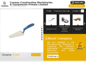cosmosconstructionmachineries.com