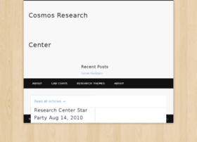 cosmosresearch.org