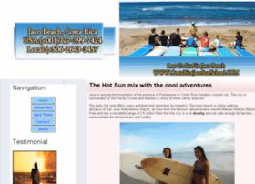 costaricajacosurfschool.com