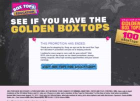 costcoboxtops.com