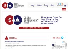 costofgovernment.org